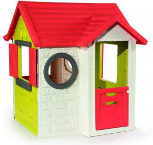 smoby-my-house-rode-luikjes-speelhuis
